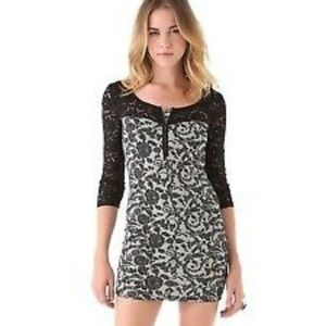 bca179fe49db Free People | Long Sleeve Lace Floral Dress M